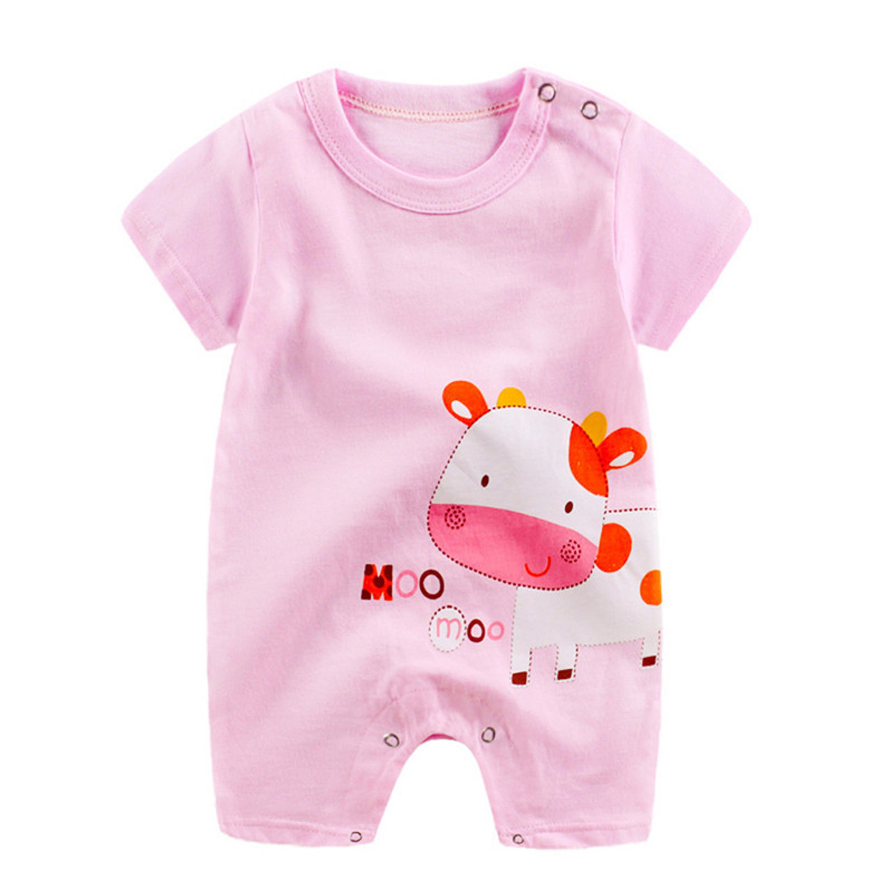 b30b55094d61 ... 2018 New baby rompers Newborn Infant Baby Boy Girl Summer clothes Cute  Cartoon Printed Romper Jumpsuit ...