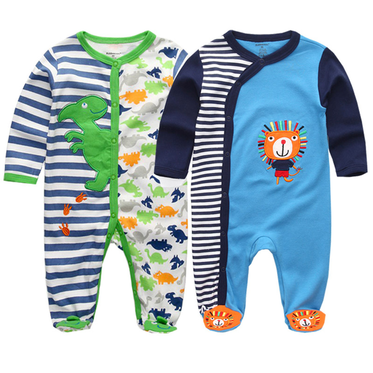3b4c4225ba85 ... 2018 baby clothes Full Sleeve cotton infantis baby clothing romper  cartoon costume ropa bebe 3 6 ...