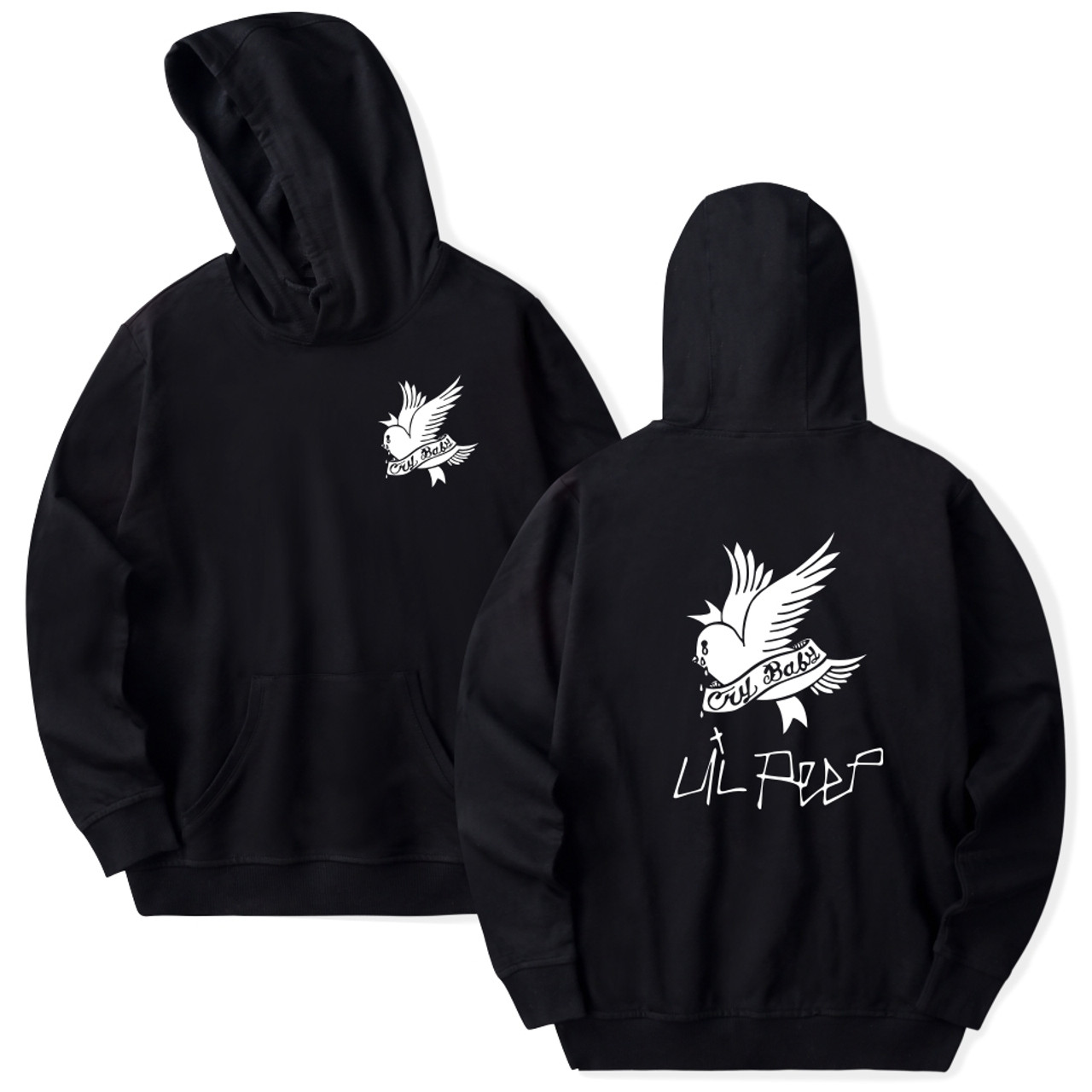c596b4023 Lil Peep Hoodies Love Winter Men Sweatshirts Hooded Pullover Casual ...