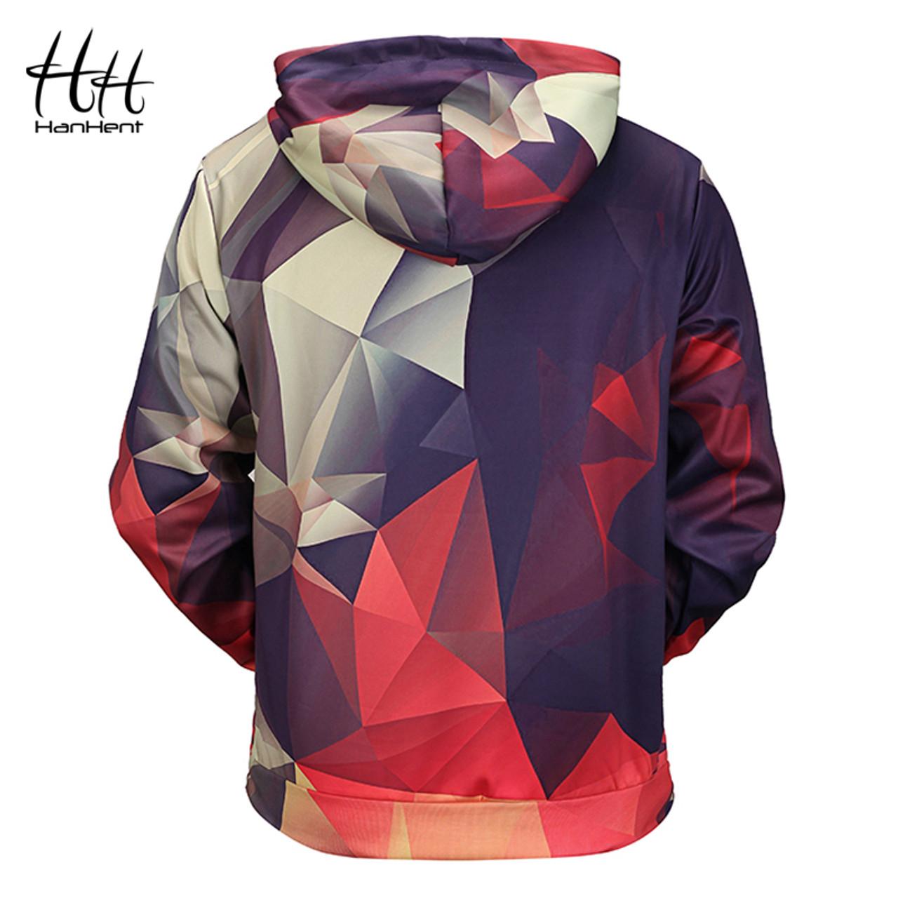 Math Wall Mans Long Sleeve Hoodie Casual Pocket Hooded Sweatshirt