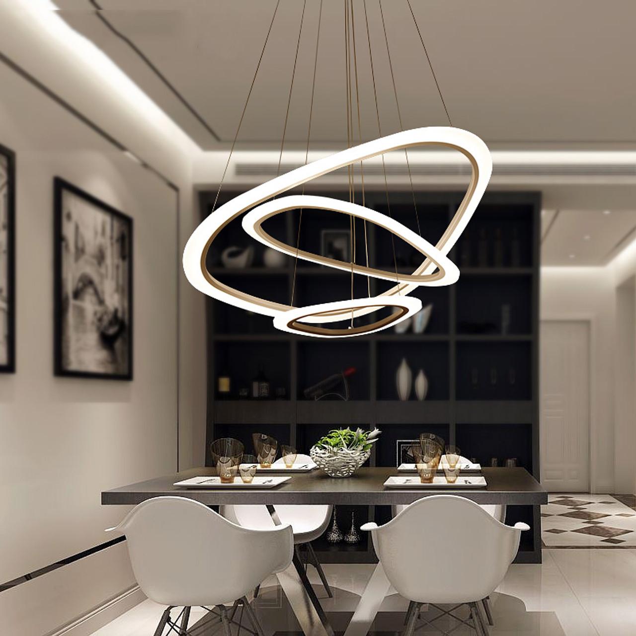 Led Chandelier Loft Illumination Nordic Suspension Luminaire Home Deco Lighting Fixtures Living Room Lamps Modern Hanging Lights Onshopdeals Com