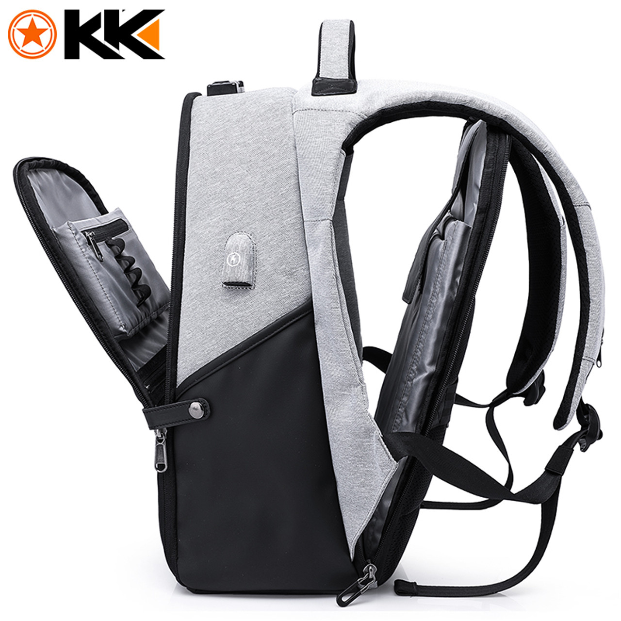 KAKA New 15.6inch Laptop Backpack Male USB Business Anti theft Backpack for Men  Mochila Fashion Travel Backpacks School Bags 806 - OnshopDeals.Com fa52270219079