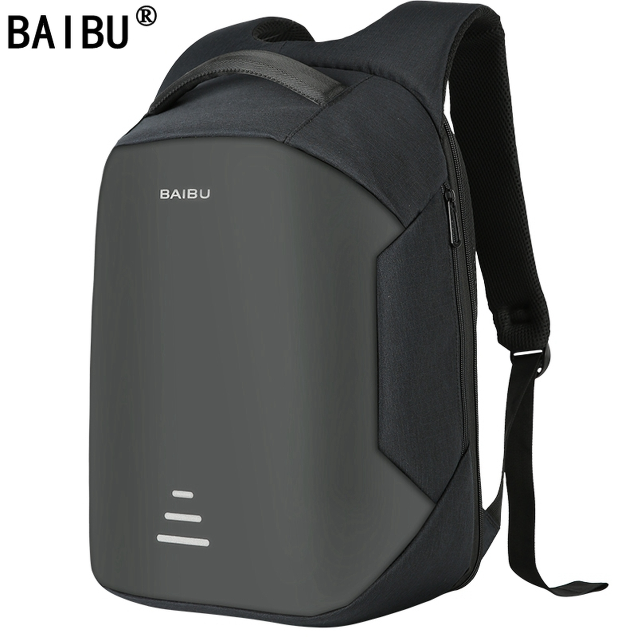e48c11646a41 BAIBU NEW Men 15.6 Laptop Backpack Anti Theft Backpack Usb Charging Women  School Notebook Bag Oxford Waterproof Travel Backpack