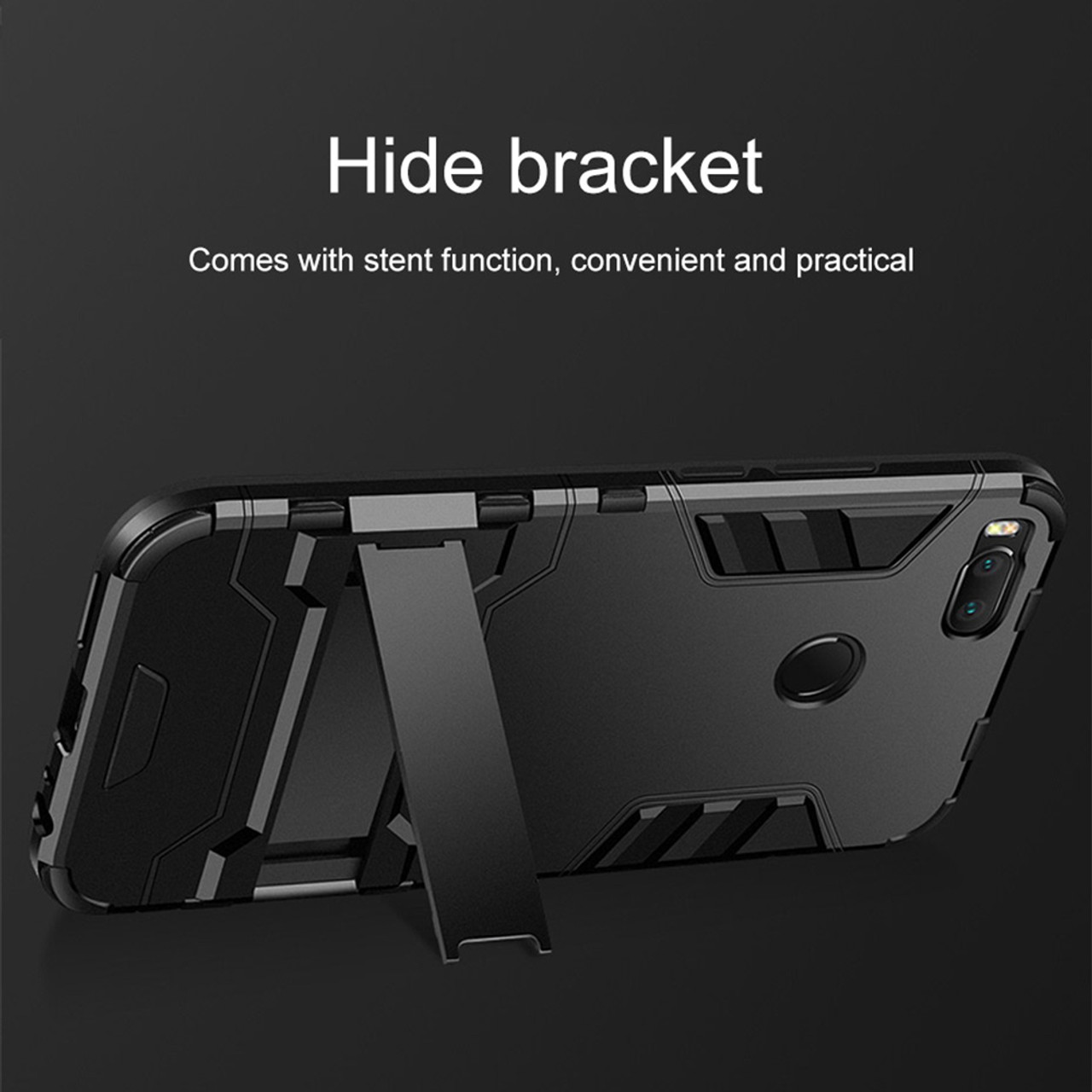 For Xiaomi Mi A1 5x Case Aubusen Hybrid Shockproof Hard Iron Man Brushed Carbon Armor Soft Mi5s 5s Defender Silicone Cover
