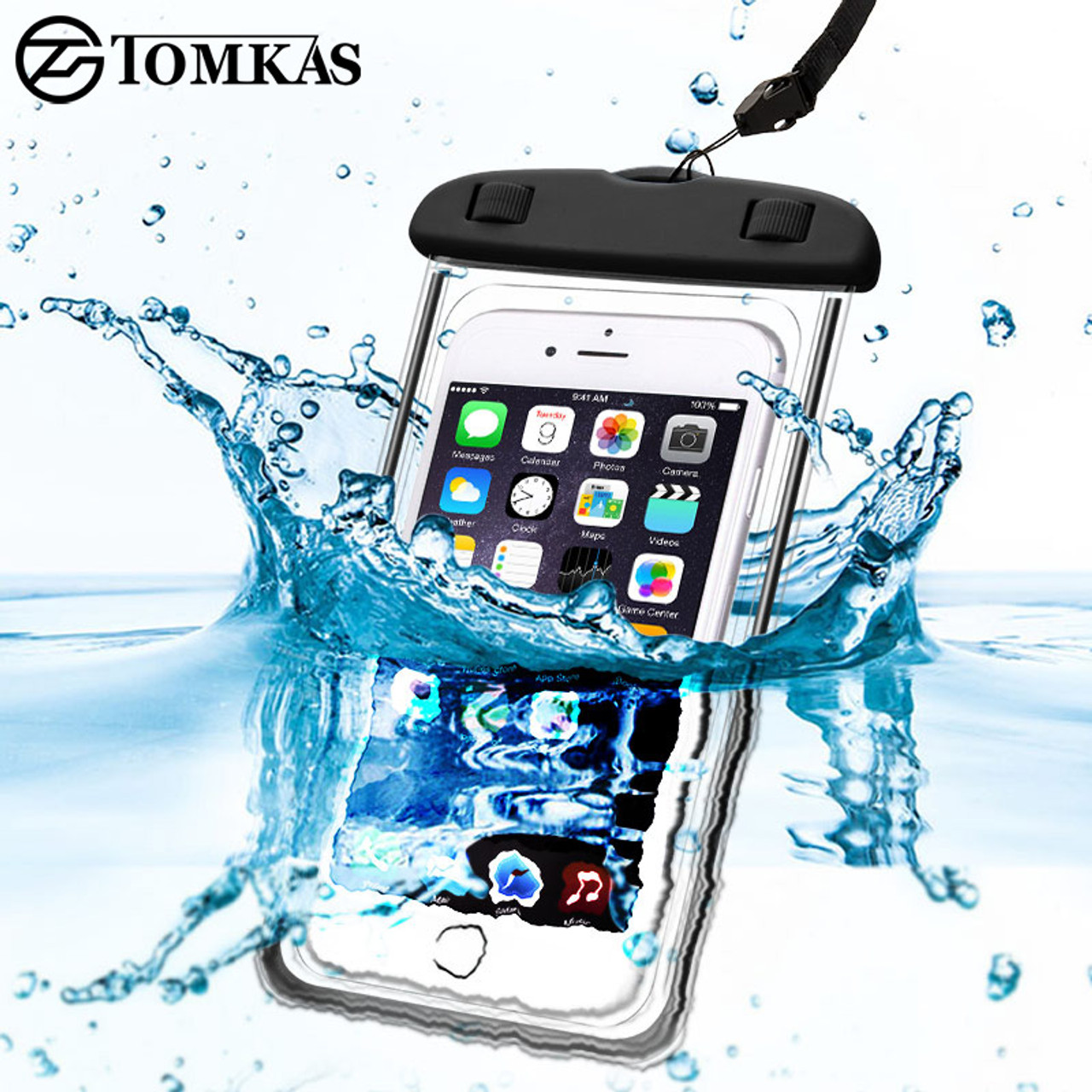 info for c2595 b9e3b Universal Waterproof Case For iPhone 5S 6 6S 7 Plus Samsung Xiaomi Redmi 3s  Note 3 4 Pro MI5 Cover WaterProof Pouch Max 6