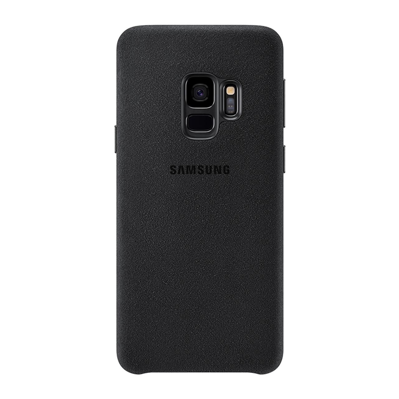watch bfa37 ed8af 100% GENUINE Original Samsung G960 G965 Galaxy S9 S9 Plus S9+ ALCANTARA  Cover Anti-knock Back Case luxury