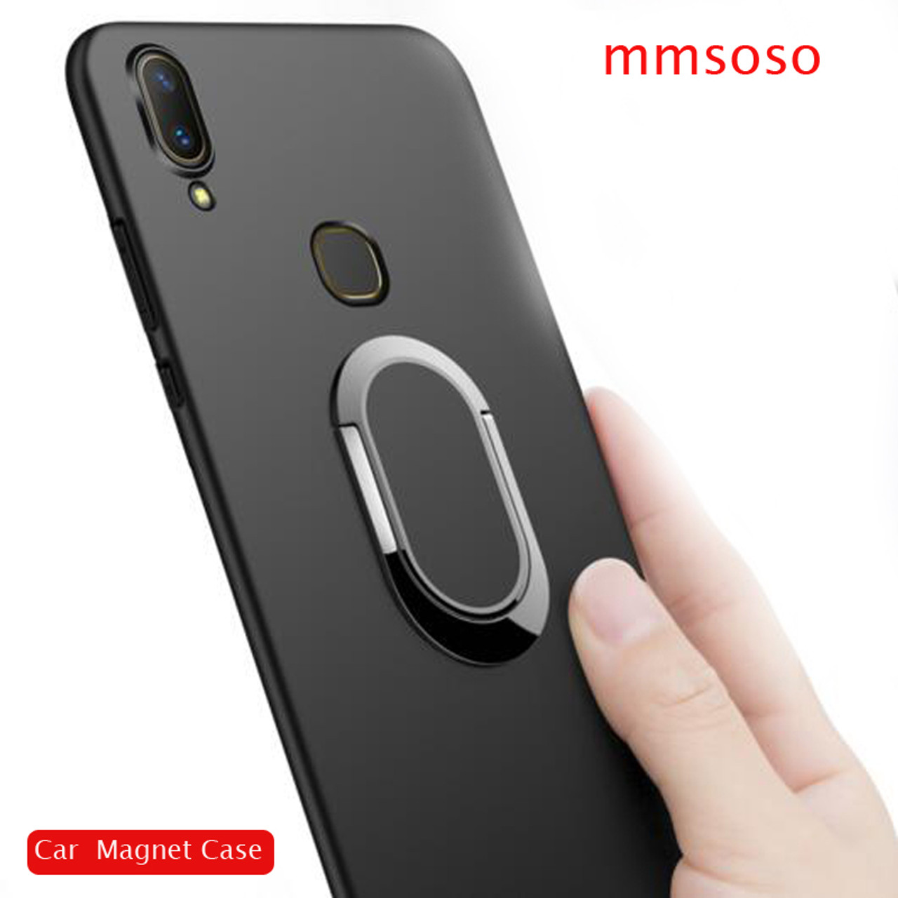 hot sales c4b0d 9a24b Case For Vivo V9 / Vivo Y85 Case 360 Protection Soft Silicone Car Holder  Magnetic Phone Cases For Vivo V9 / Vivo Y85 Cover