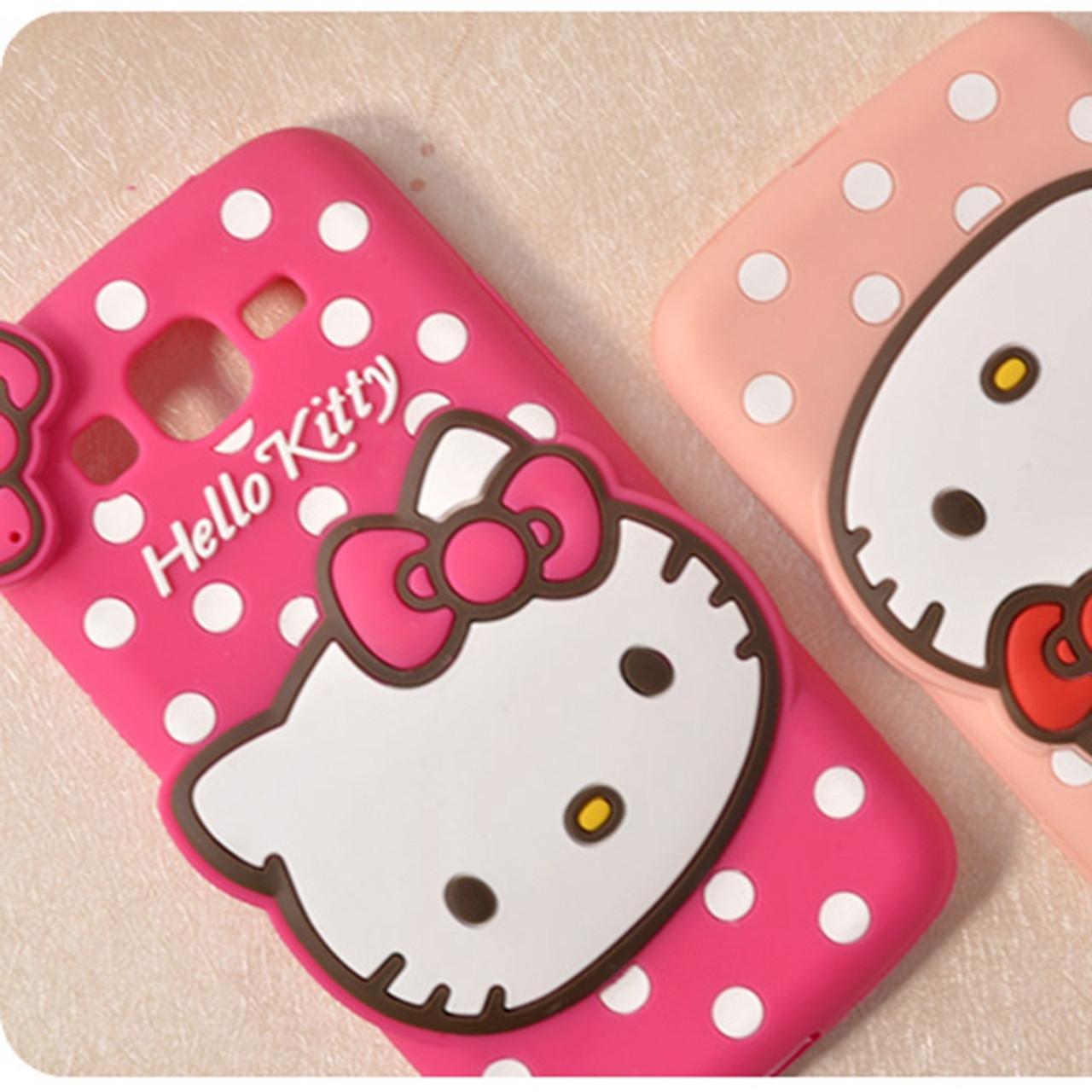 Luxury 3d Cute Cartoon Hello Kitty Women Phone Case Cover For Samsung Galaxy A5 A7 A8 A9 J1 J2 J3 J5 J7 2015 2016 J510 J710 Onshopdeals Com