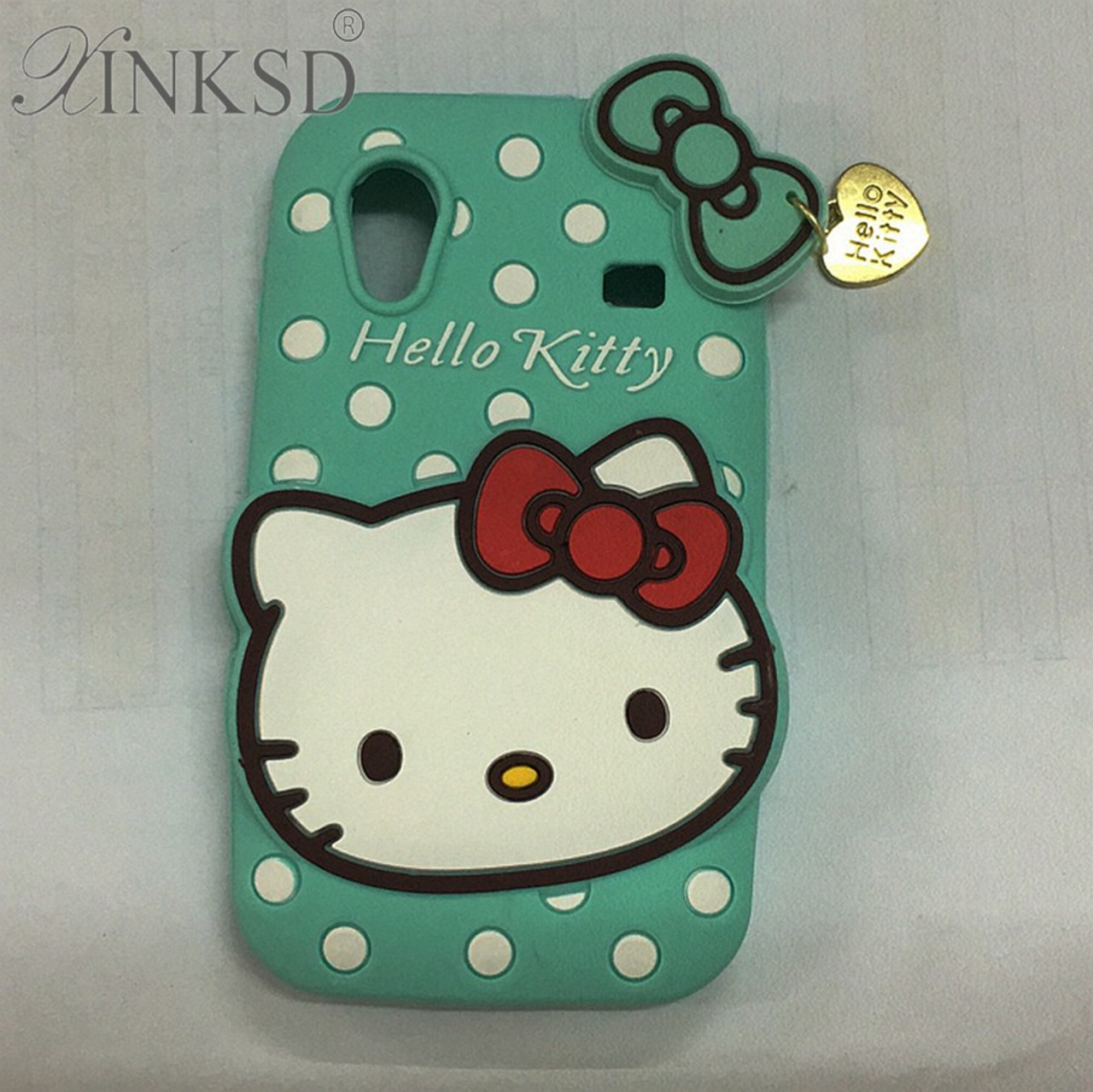 4a9c4cc97 For Samsung Galaxy Ace S5830 Cases 3d Silicon Hello Kitty Soft Cell