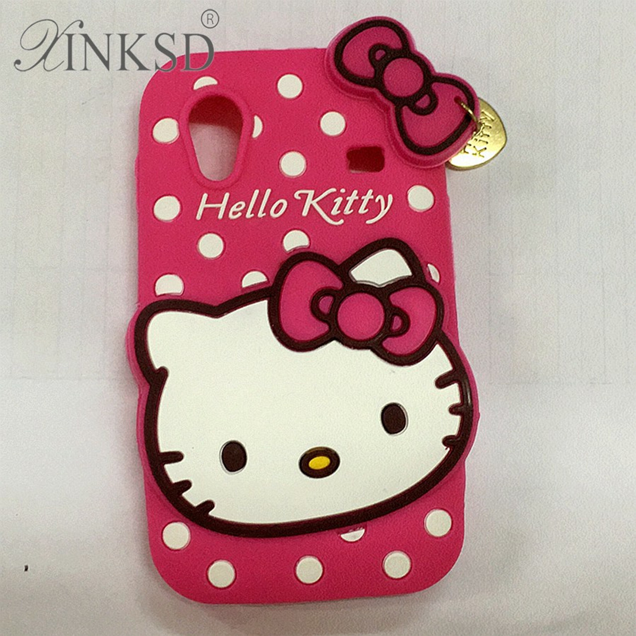 8d42e49e0 ... For Samsung Galaxy Ace S5830 Cases 3D Silicon Hello Kitty Soft Cell  Phone Back Cover for ...
