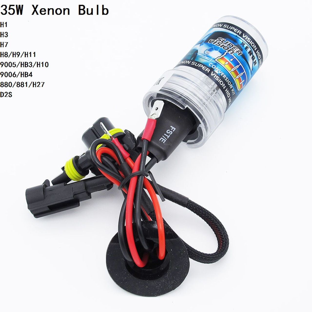 1pc H1 H3 H7 H11 9005 9006 D2S 12V 35W HID Xenon Bulb Auto Car Headlight