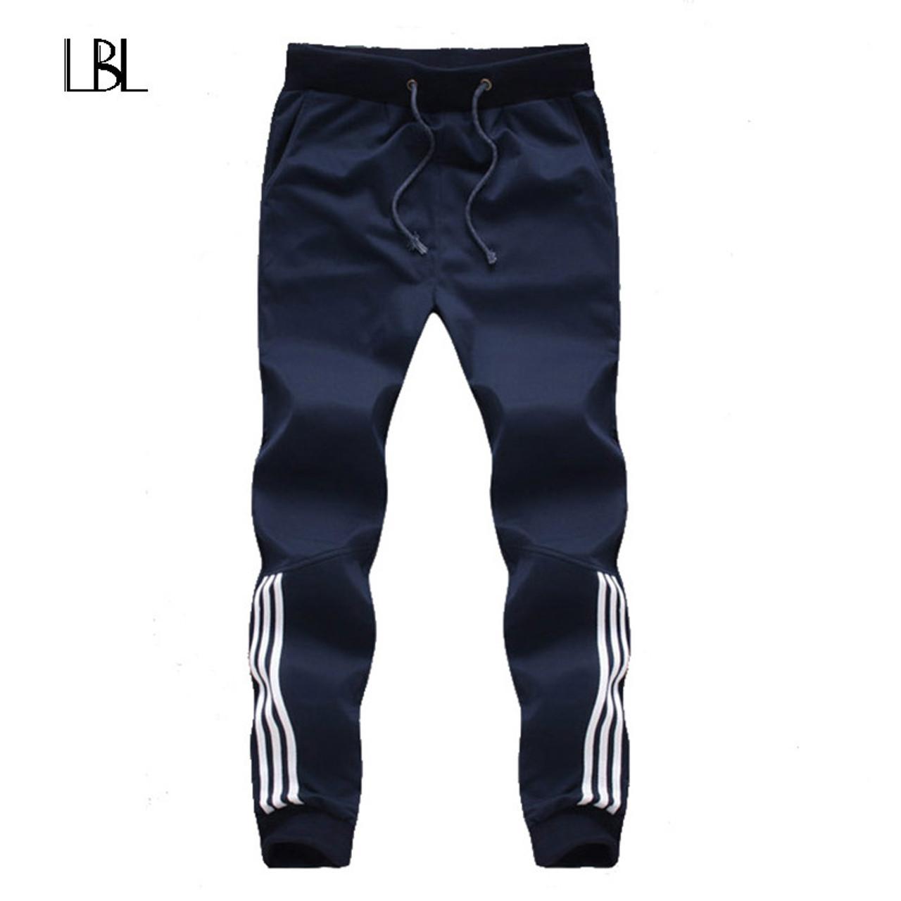 Men/'s New Fleece Tracksuit Bottoms Jogging Gym Casual Trouser Pant Plus BigSize