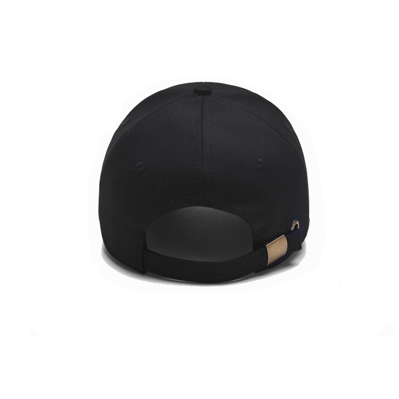 a7d6eabc16a3d ... 2018 Black Cap Solid Color Baseball Cap Snapback Caps Casquette Hats  Fitted Casual Gorras Hip Hop ...