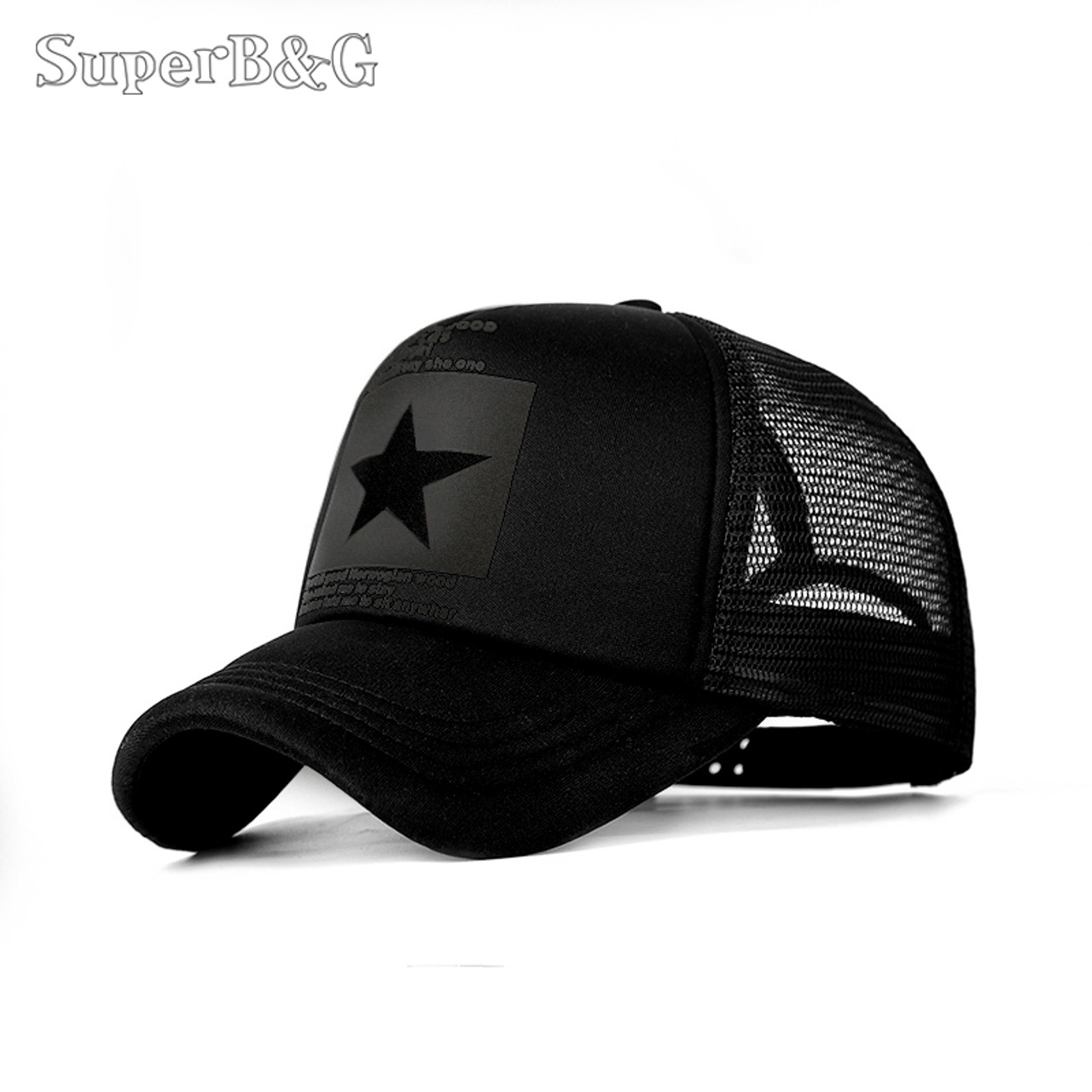 e9b718aed8a SuperB amp G 2018 Fashion Summer Baseball Cap Women Men Mesh Breathable  Snapback Cap Unisex Adjustable Sport Hats Dad Hat Bone - OnshopDeals.Com