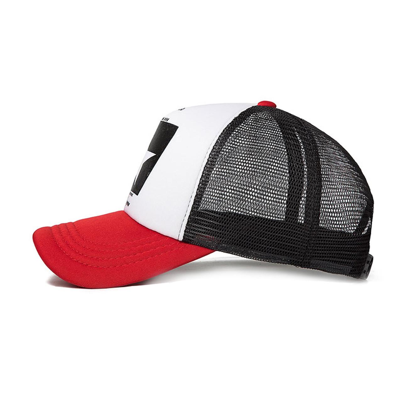 4dd9253e46827 ... SuperB amp G 2018 Fashion Summer Baseball Cap Women Men Mesh Breathable  Snapback Cap Unisex Adjustable ...