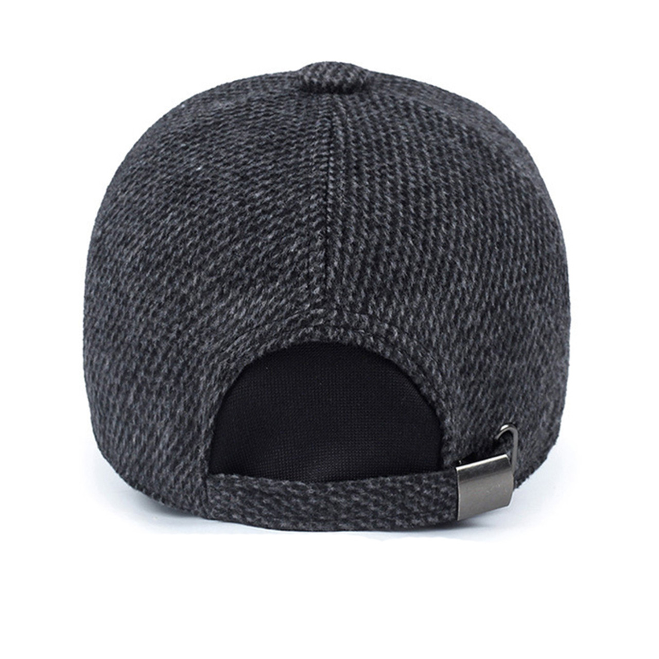 ... PRETTY KITTY 2018 Thickened Baseball Cap With Ears Men S Cotton Hat  Snapback Hats Ear Flaps For ... 6ef48dce7fd3