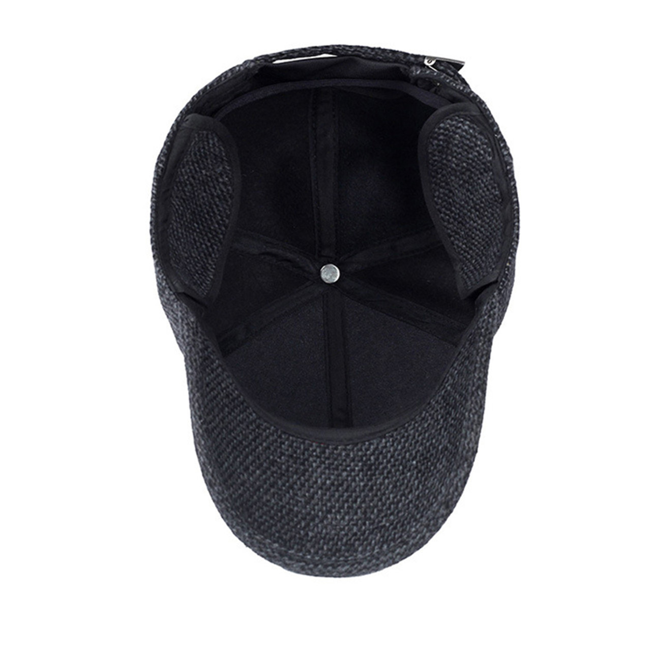 Mens Cap Thickened Baseball Sport Winter Spring Snapback Hats Cotton Material