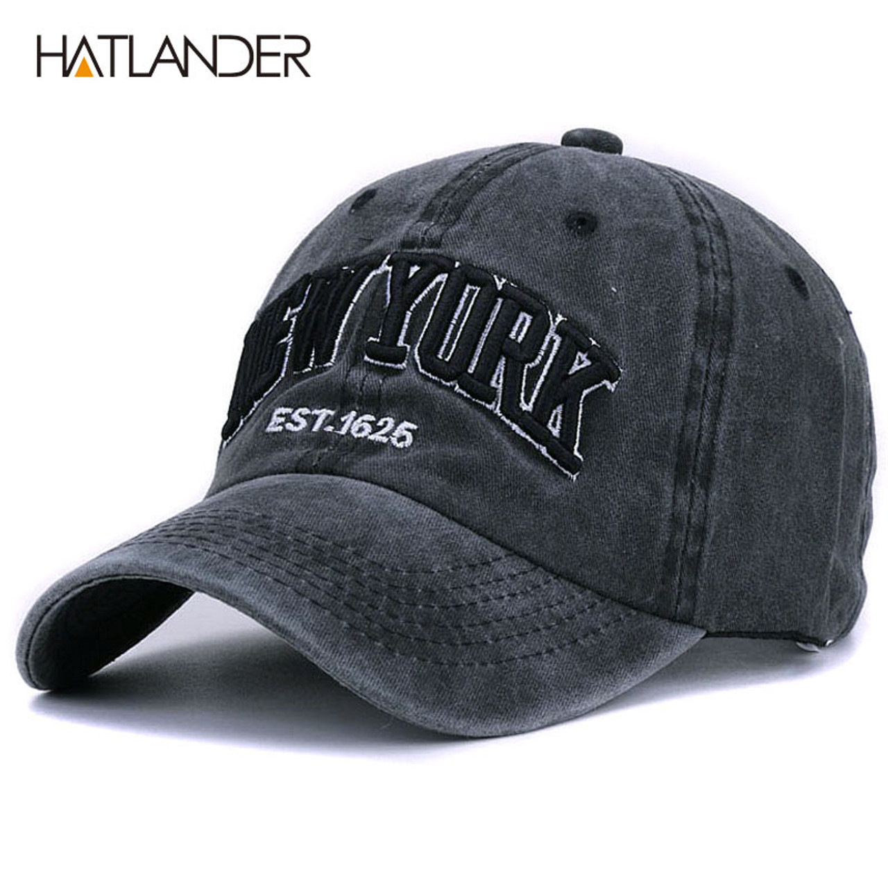 Vintage Men Baseball Caps Dad Women Caps Hats for Men Embroidery Baseball Hat Adjustable Cotton Cap