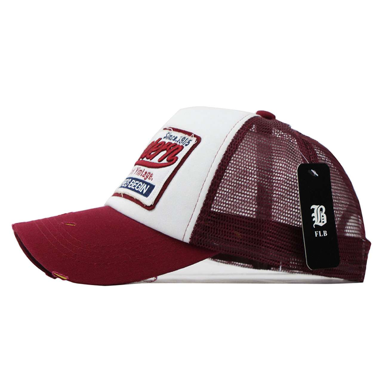 0af1faa80d14c ...  FLB  Summer Baseball Cap Embroidery Mesh Cap Hats For Men Women Gorras  Hombre hats ...