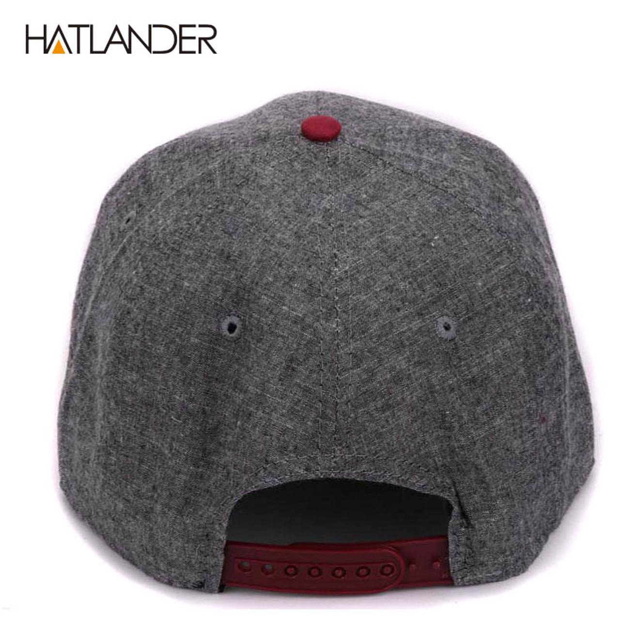 sports shoes 19434 d3ab7 ... HATLANDER branded adjustable baseball caps women Kpop hip hop cap  outdoor flat brim mens hats gorras ...