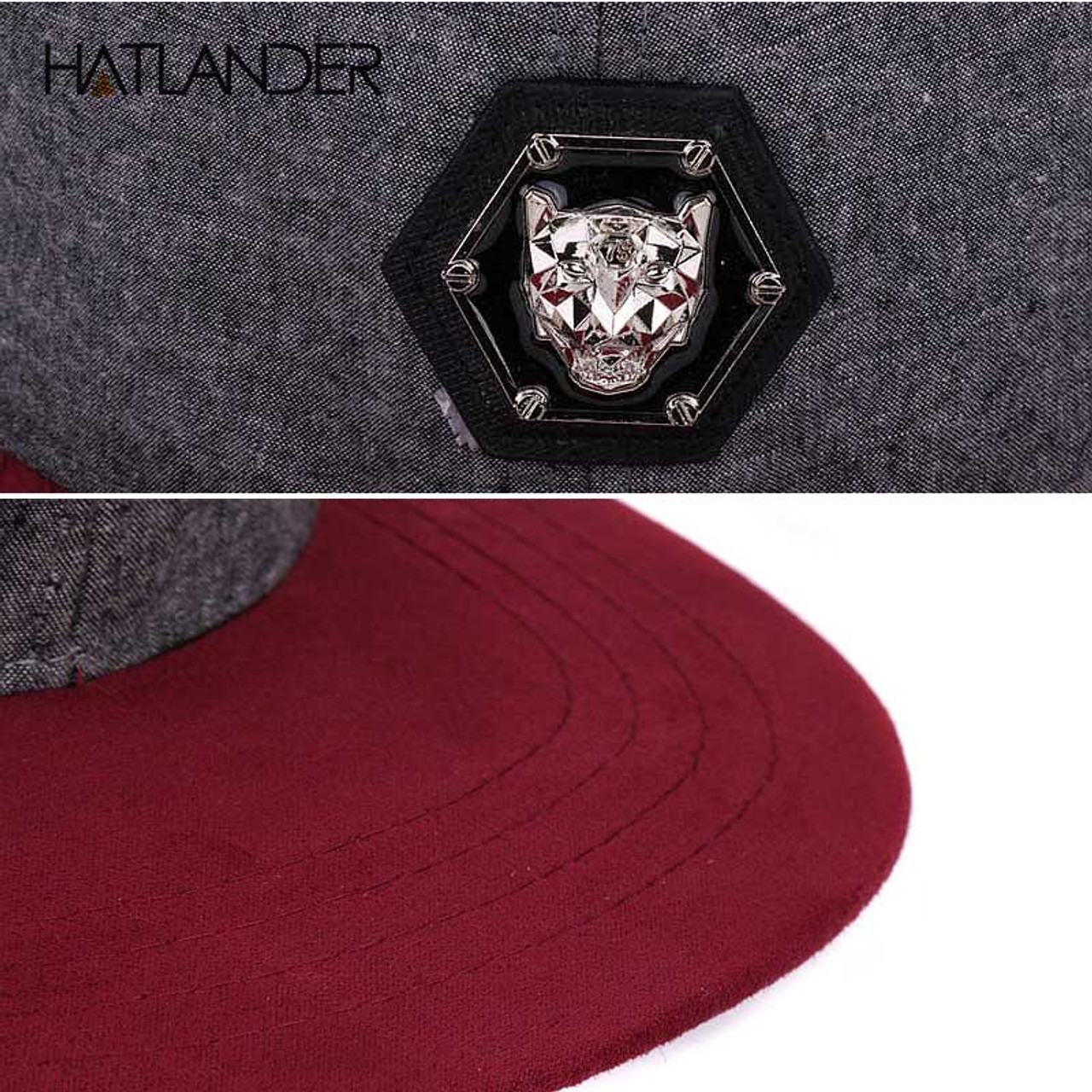 0a284c3f4c52f ... HATLANDER branded adjustable baseball caps women Kpop hip hop cap  outdoor flat brim mens hats gorras