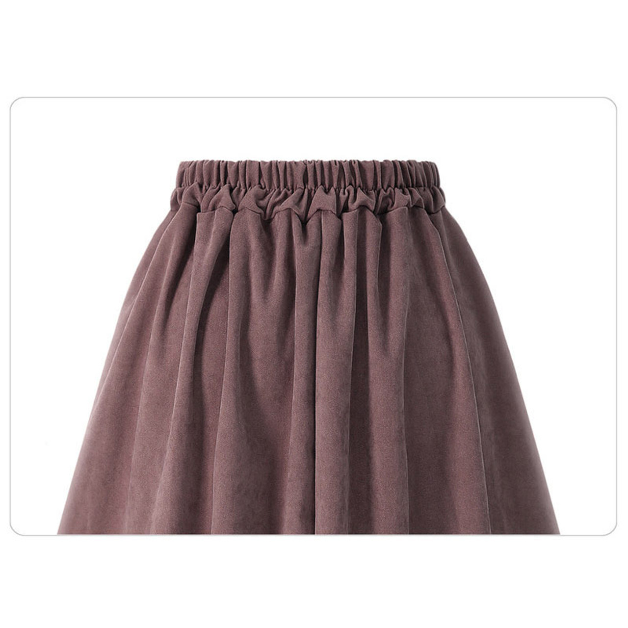 be8a91aed97d ... HDY Haoduoyi Pleated Skirts Button High Waist Elastic Mid Skirt Korean Style  Women Skirts Fashion New
