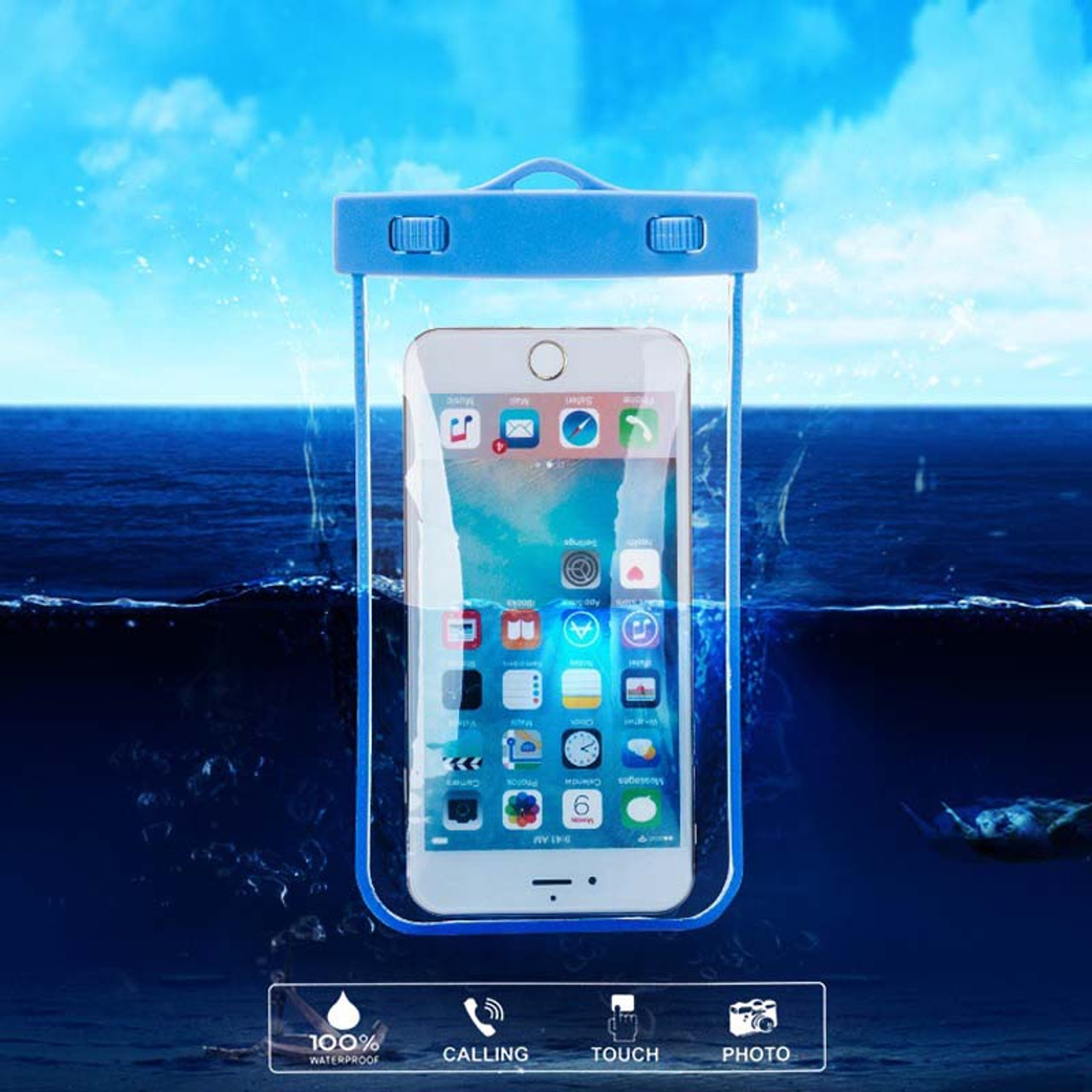 buy popular 9c607 3267f Waterproof Swim Impermeable Belt Mobile Cell Phone Sealed Bag Case for  Huawei mate 9/pro/honor p8/p9/super/plus/e/Blackview