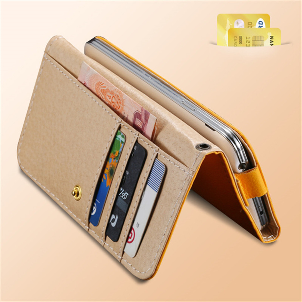 KISSCASE Universal Women Men Wallet Case Cover For iPhone 7 6 6S Plus 5S SE  For Samsung Galaxy S6 Edge S5 S4 Leather Pouch Bags - OnshopDeals.Com 8e118f6f8c