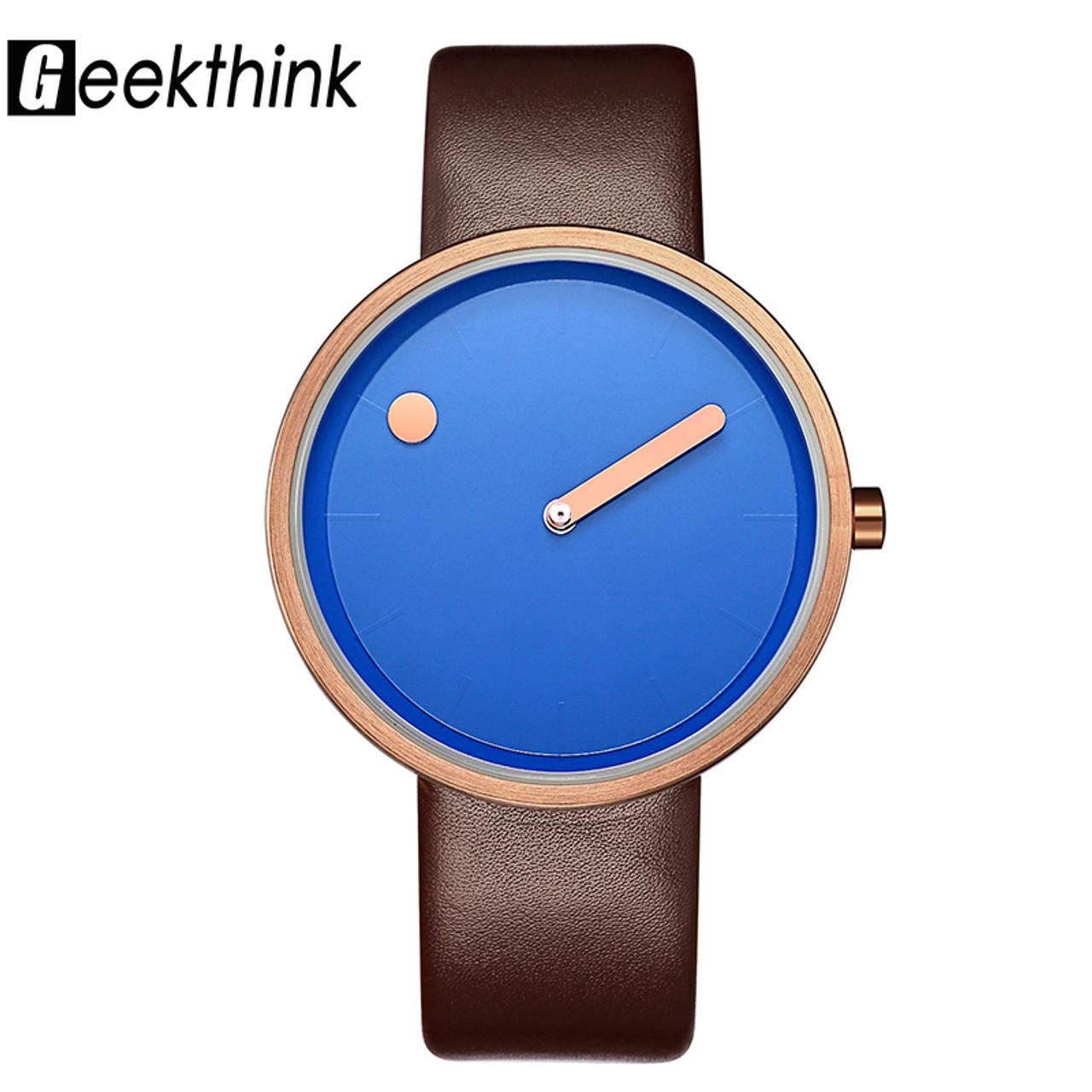 288d271348b Luxury Brand Quartz Watch Women Leather Casual Ladies Simple Wrist watch  Ladies Girl Clock Female Creative ...