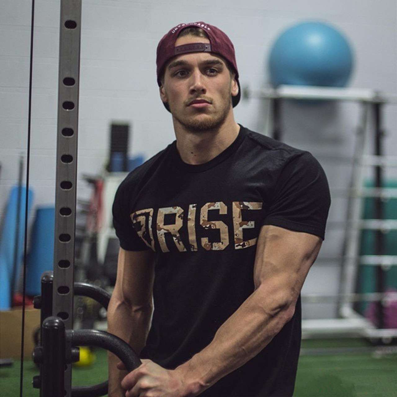 New mens gyms T shirt Crossfit Fitness Bodybuilding Fashion Male Short