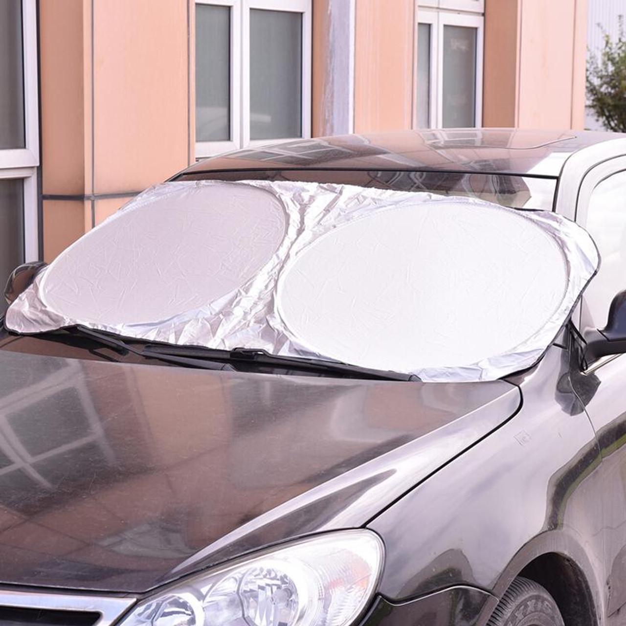 UV Protect Car Window Film Hot Auto Visor Windshield Windscreen Sun Block  Cover Folding Jumbo Front Rear Car Window Sun Shade - OnshopDeals.Com fabead9516a