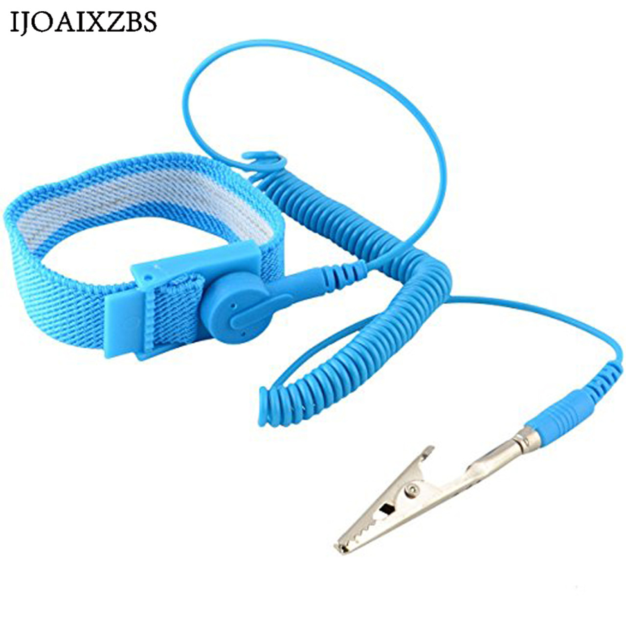 Back To Search Resultstools Intelligent Anti Static Esd Adjustable Wrist Strap Discharge Band Ground Metal Bracelet