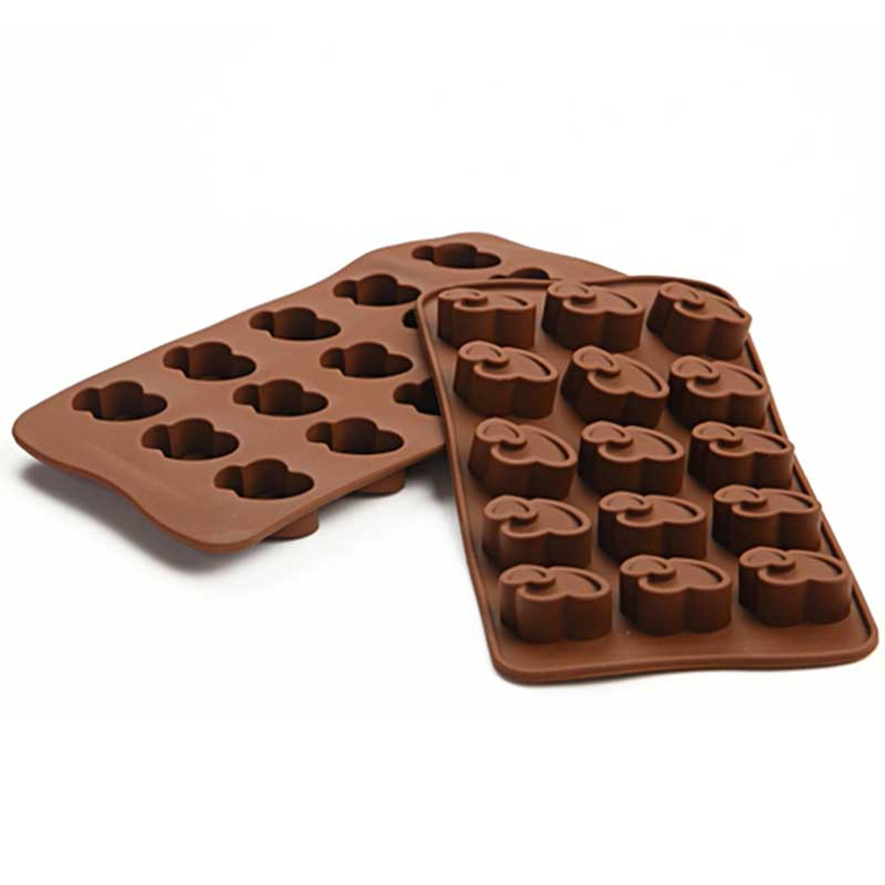 5369d6d02fb2 ... 19 Shape 3D Silicone Numbers Fruit Chocolate Mold Candy Cookie Baking  Fondant Mold Cake Decoration Tools ...