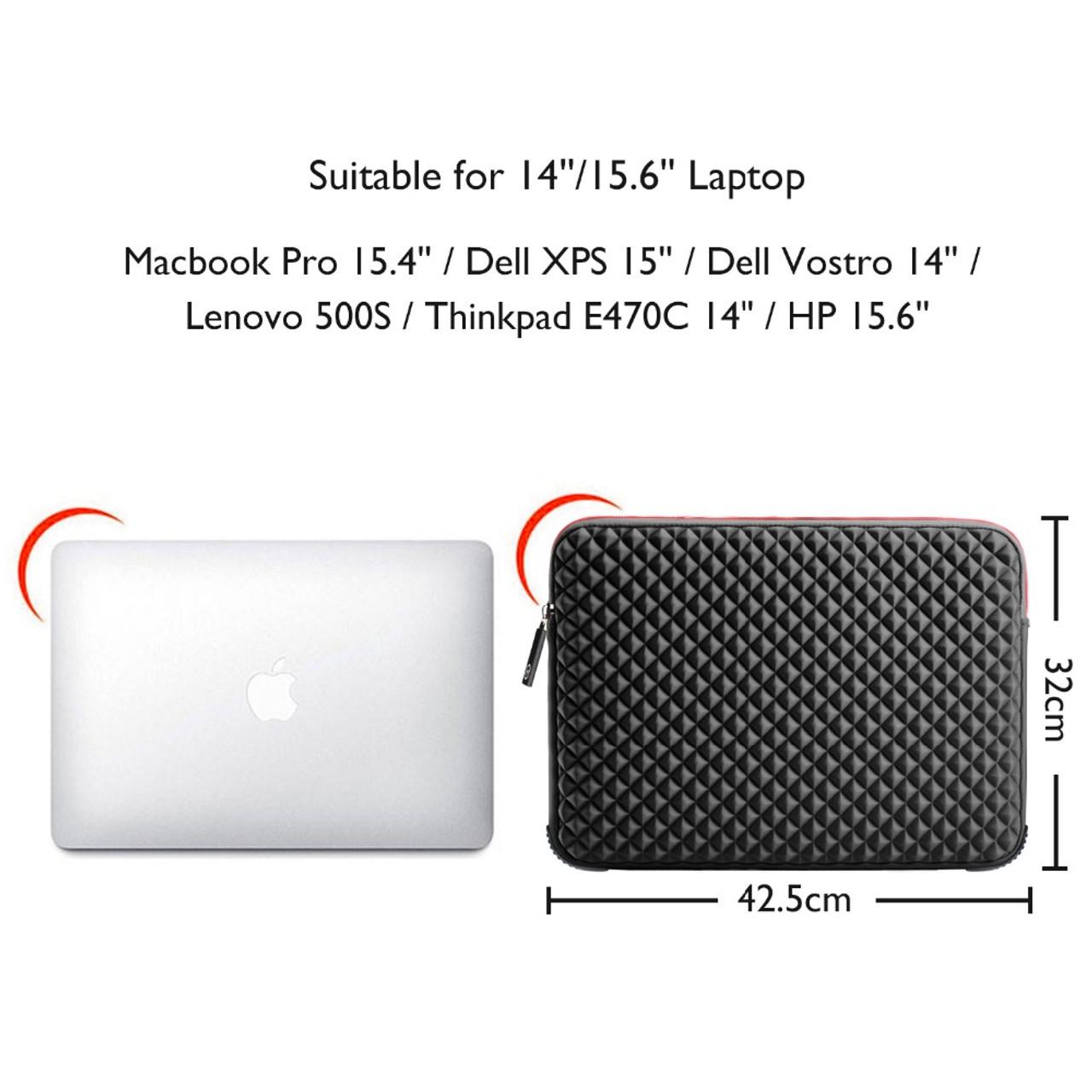 dc5dcd471bc ... Gearmax WIWU 13 13.3 15 15.6 17 17.3 inch Laptop Sleeve Waterproof  Shockproof Black Notebook ...