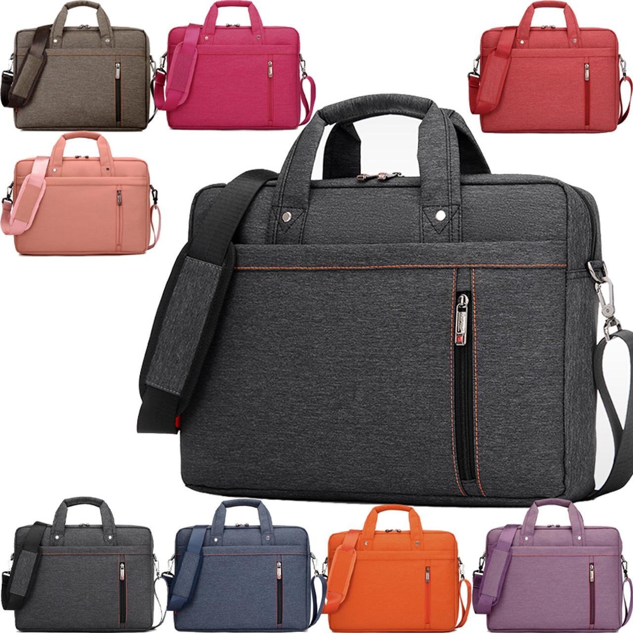3fa0f10a7e14 Burnur 12 13 14 15 15.6 17 17.3 Inch Waterproof Computer Laptop Notebook  Tablet Bag Bags Case Messenger Shoulder for Men Women