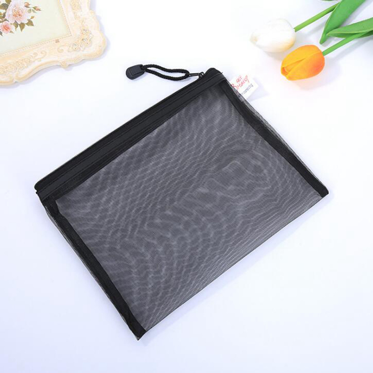 9ef9663f469873 ... Casual Travel Cosmetic Bag Women Zipper Make Up Transparent Makeup Case  Organizer Storage Pouch Toiletry Beauty