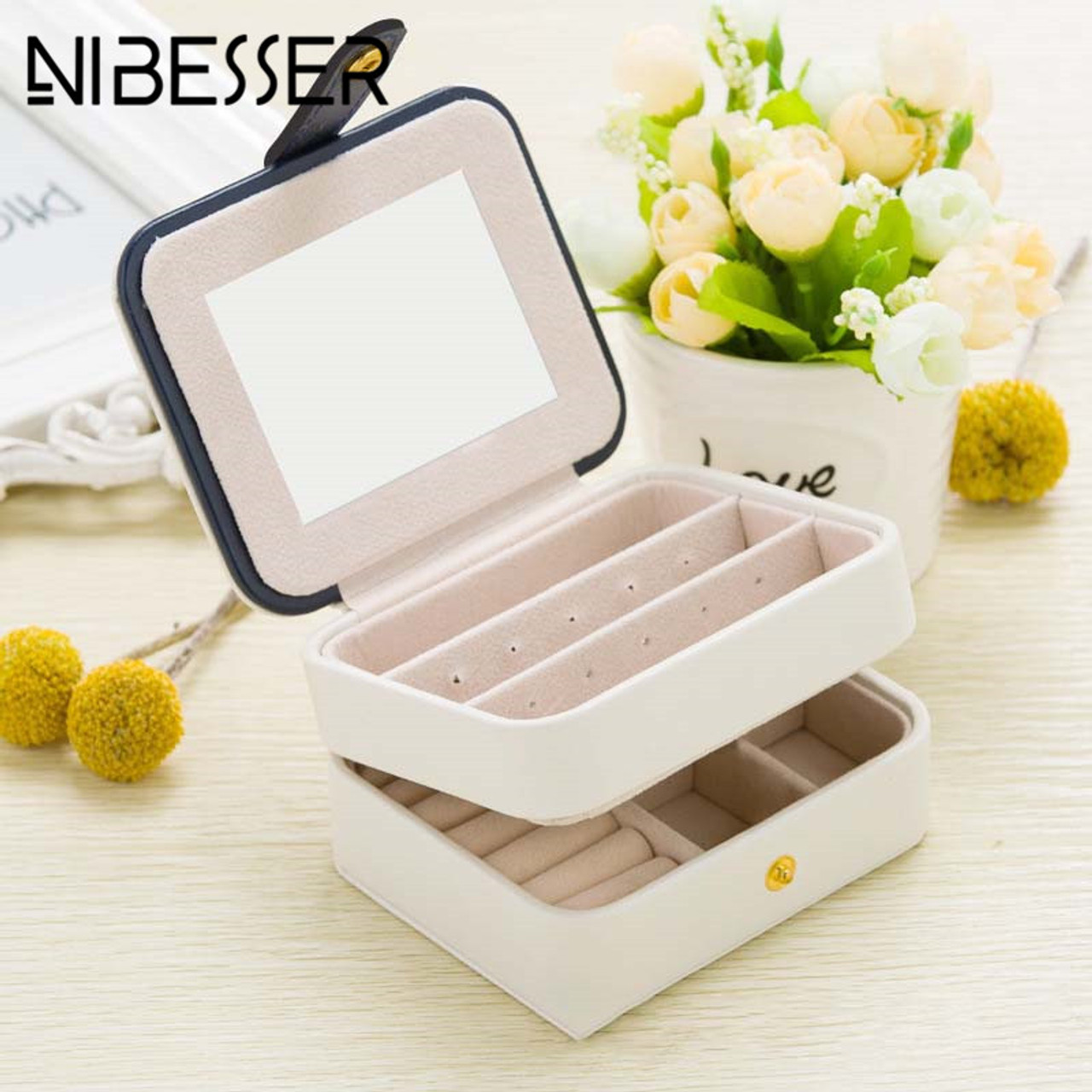 NIBESSER Cosmetic Bags Makeup Bag Women Travel Jewelry Box Professional  Jewel Casket Necessaries Make Up Organizer storage box - OnshopDeals.Com f8c551dda20cb