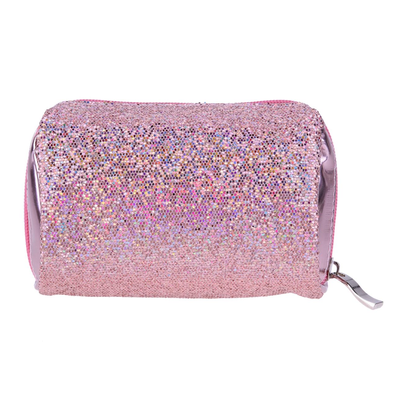 7cdb4402ff Sequins Portable Cosmetic Bag Multifunction Toiletry Organizer Zipper  Makeup Bag Women Makeup Pouch Bling Toiletry Organizer