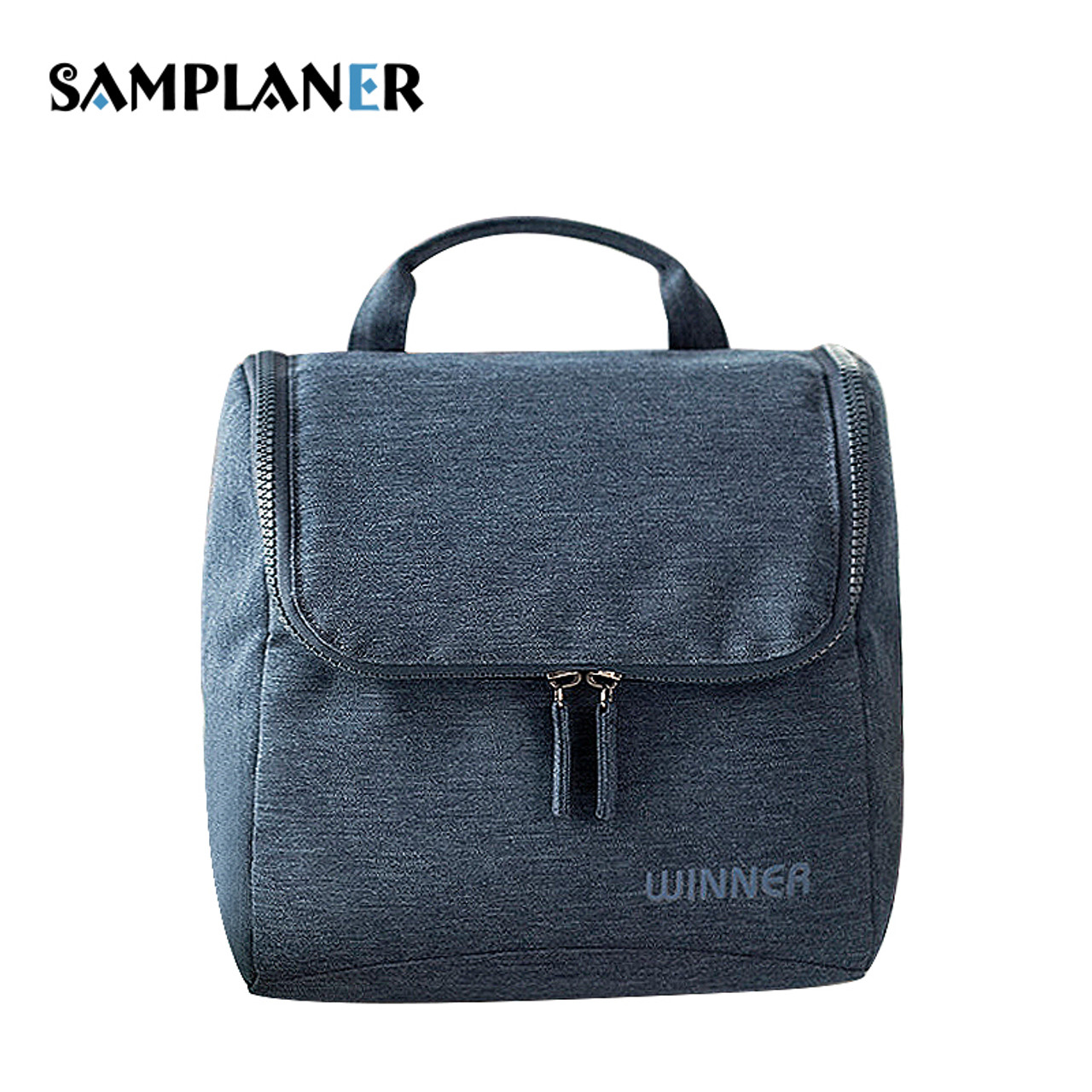 514757c07b Samplaner Waterproof Cosmetic Bags for Men Women Travel Makeup Bags Washing Toiletry  Kits Solid Storage Bag ...