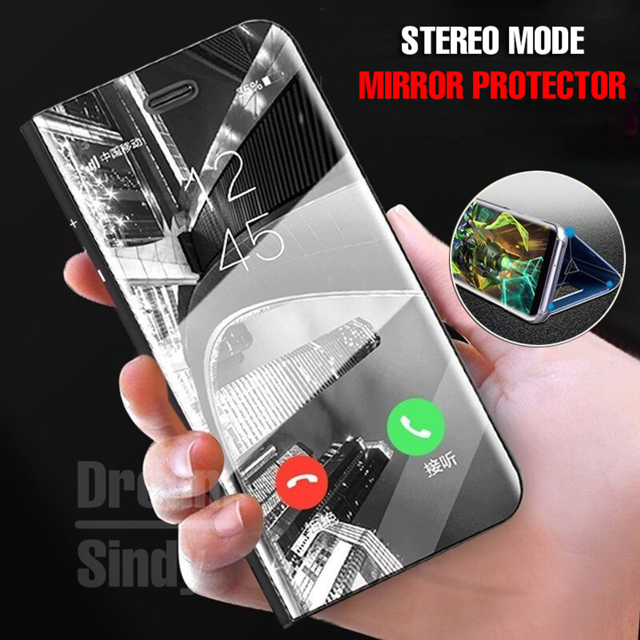online store a58ac 79997 Luxury Mirror Flip Case For Huawei P20 Pro P20 Lite Mate 10 lite Full Cover  Phone Case For Huawei Mate 10 Pro P20 Plating Case