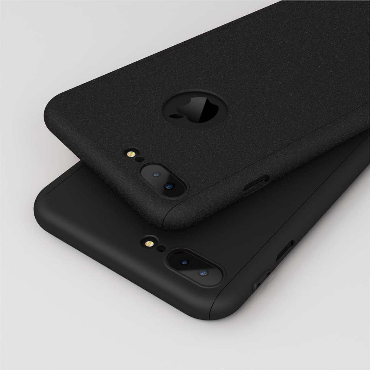 promo code a283e d24c2 Roybens For iPhone 7 Case Luxury Full Body Case For iPhone 6 6S 7 Plus Hard  PC 360 Degree Temper Glass Screen Protector Cover