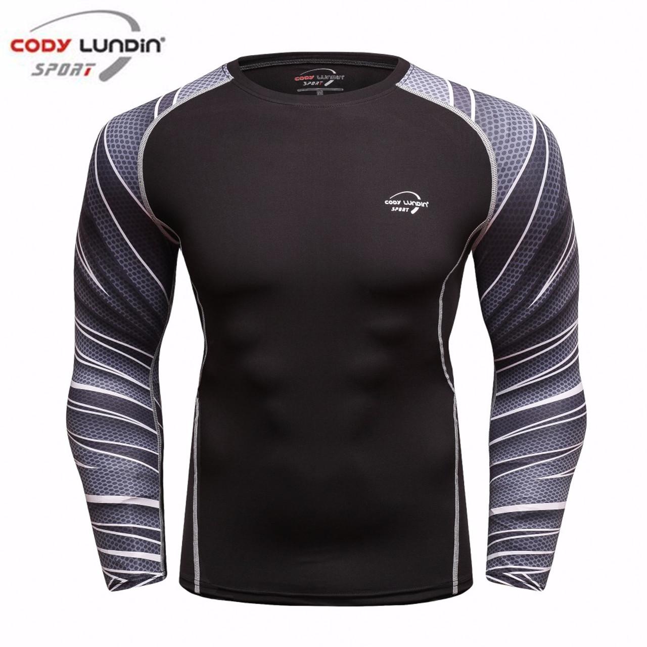 401c6e2f2032 Cody Lundin New 2018 Fitness MMA Compression Shirt Men Long Sleeve 3D  Printed T-shirt ...