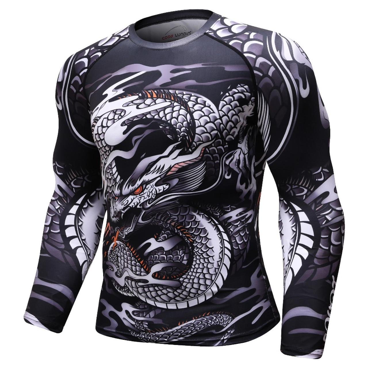 Bjj Rash Guard T-Shirt Compression Short Sleeve Top MMA Mens Superman Gym Shirt