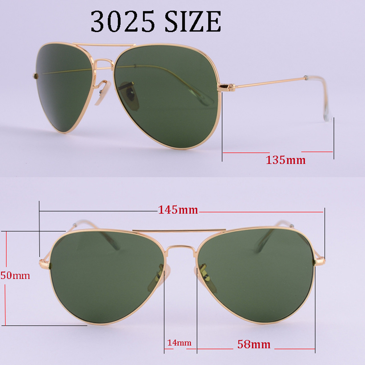 19f81b7cc63 ... LVVKEE Top quality G15 Polarized Aviator Sunglasses Men Women Classic Brand  Design driving Sun Glasses ...