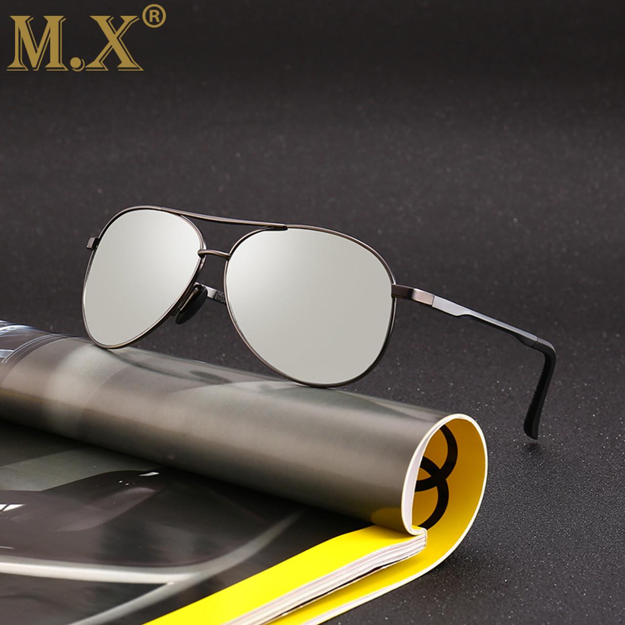 baa36ecd3062b ... 2018 Pilot Photochromic Sunglasses Men Driving Polarized Sun Glasses  Chameleon Driver Safety Night Vision Goggles Glasses ...