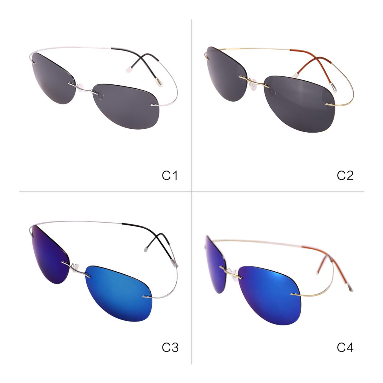 92ae3c03df ... Reedoon Sunglasses Polarized Mirrored UV400 Lens 90% Titanium Frame  Lightweight Sun Glasses 2018 For Men ...