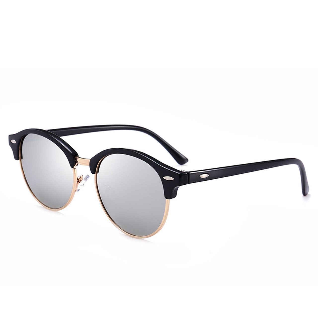 6ab4f08aaeb ... VCKA Round Polarized Sunglasses Women Brand Designer 2018 Luxury  Vintage Sun Glasses Men mirror UV400 Shades ...