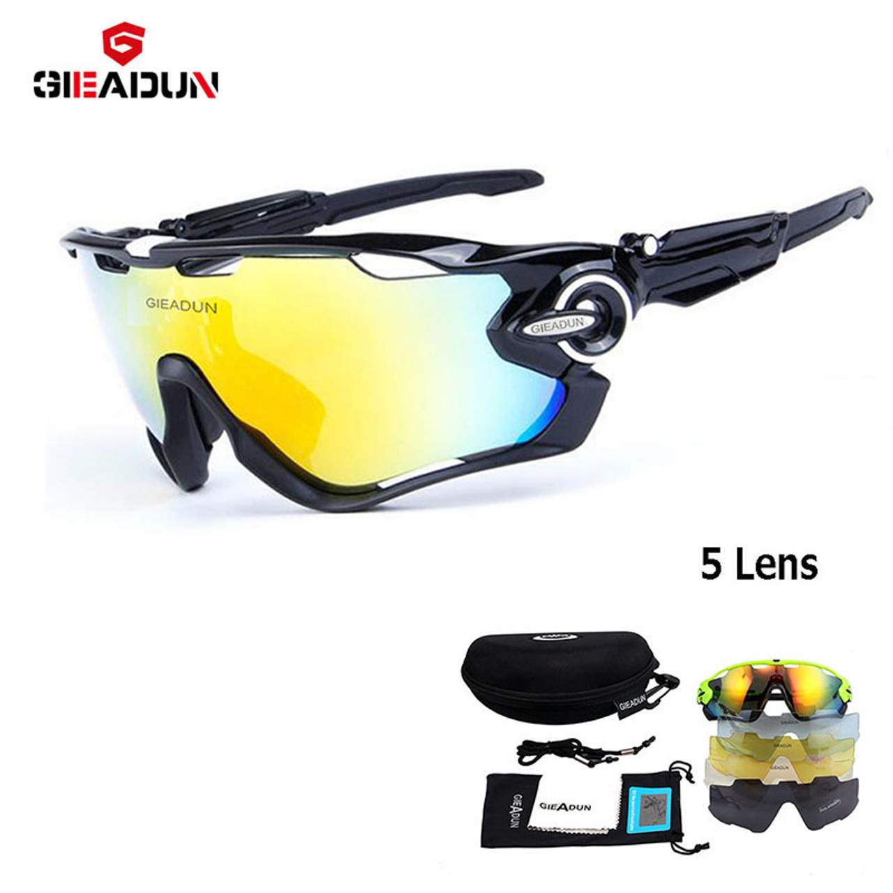 2e7f5e4618 2018 cycling Glasses 5 Lens MTB bicycle sport bike sunglasses new Outdoor  sunglasses and Polarized pesca glasses fishing glasses - OnshopDeals.Com