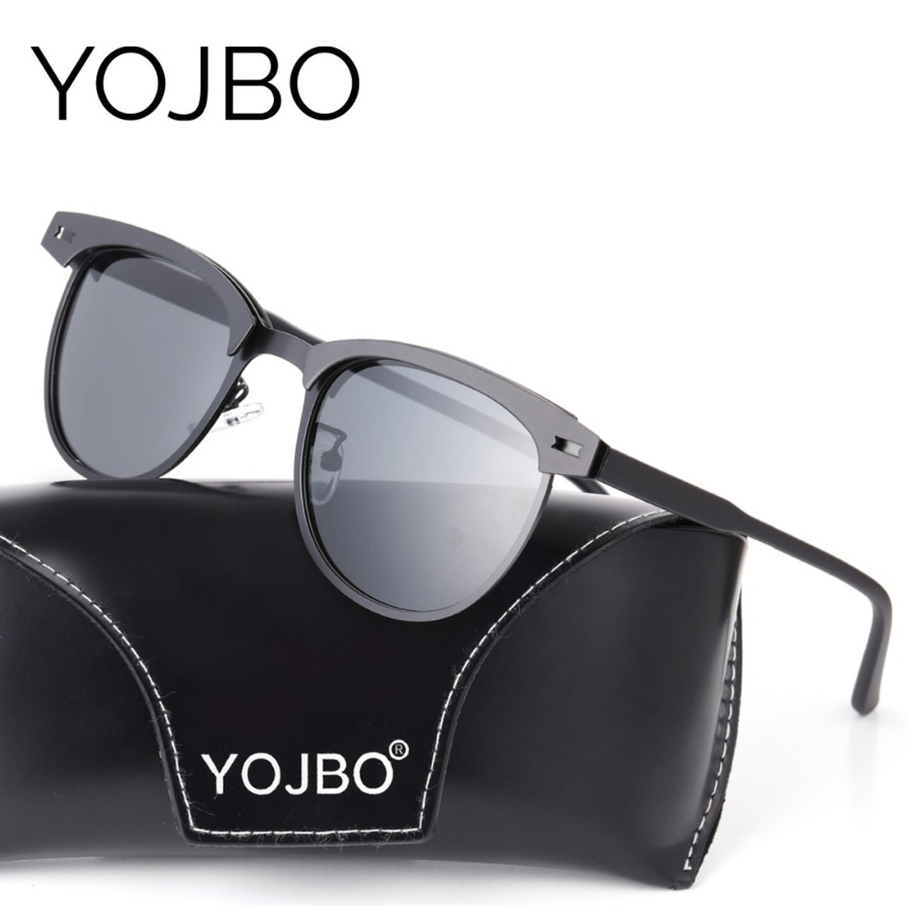 6337aae8ffa ... YOJBO Aviator Sunglasses Men Polarized 2018 Male Ladies Retro Mirror  Women Vintage Shades Luxury Brand Designe ...