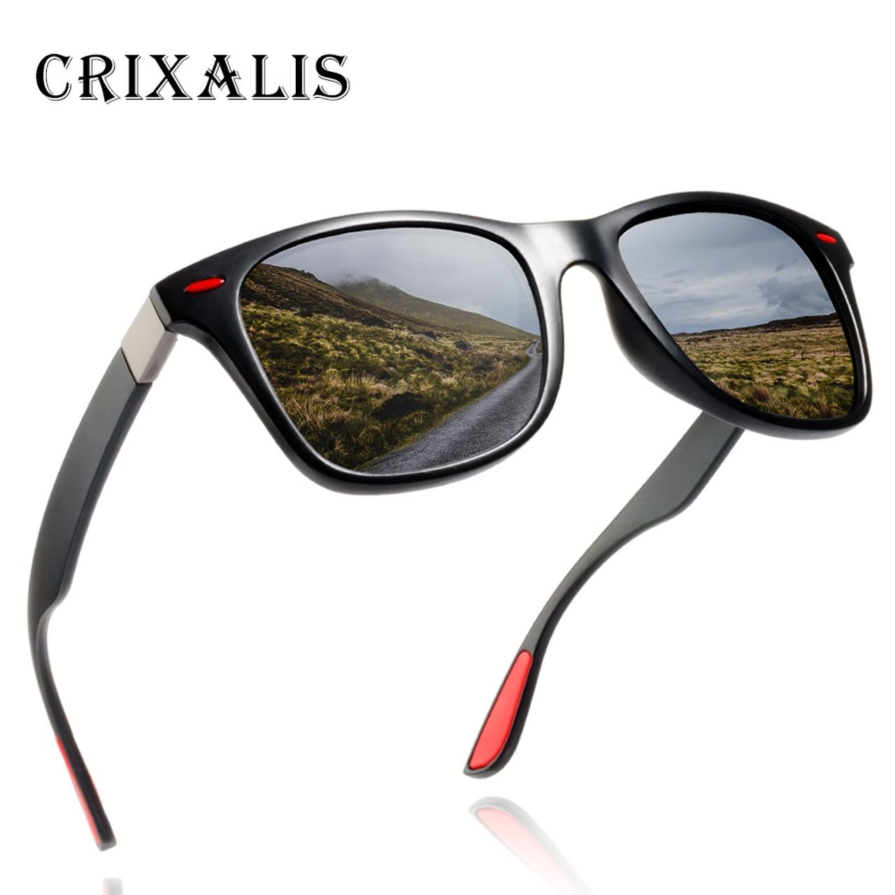 099dffc0ba Crixalis BRAND DESIGN 2018 New Polarized Sunglasses Men Retro Square Driving  Sun Glasses Male Goggles UV400 ...